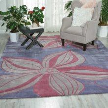 Contour Con19 Violet Rectangle Rug 3'6'' X 5'6''