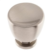 Conga Knob 1 1/4 inch - Brushed Nickel