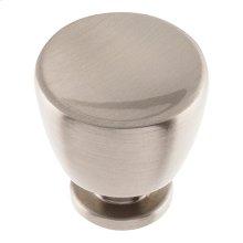 Conga Knob 1 1/4 inch - Brushed Nickel