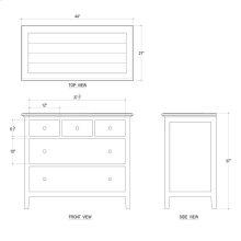 Aries 5 Drawer Dresser