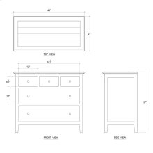 Aries 5 Drawer Dresser