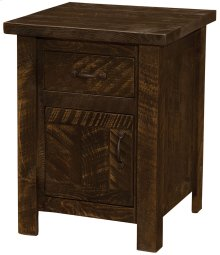 Enclosed Nightstand Red Canyon