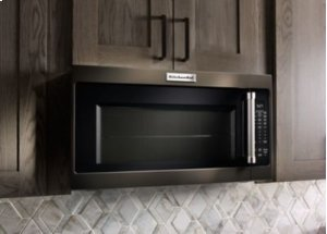 "[CLEARANCE] 1000-Watt Microwave with 7 Sensor Functions - 30"" - Black Stainless. Clearance stock is sold on a first-come, first-served basis. Please call (717)299-5641 for product condition and availability."