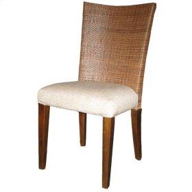 Milan Rattan Side Chair, Celleta