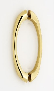 C855 Series Back-to-Back Pull G855-6 - Polished Brass