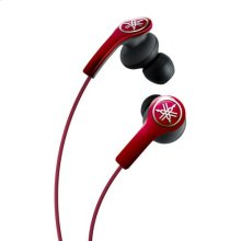 EPH-M200 BLACK High-performance Earphones with Remote and Mic