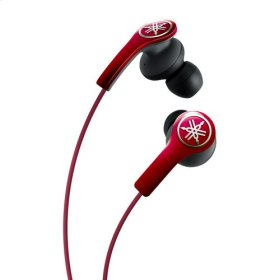 EPH-M200 Red High-performance Earphones with Remote and Mic