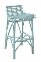 Franklin Bar Stool-Sky Blue Product Image