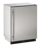 "1000 Series 24"" Outdoor Refrigerator With Stainless Solid Finish and Field Reversible Door Swing Product Image"