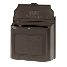 Wall Mailbox - French Bronze