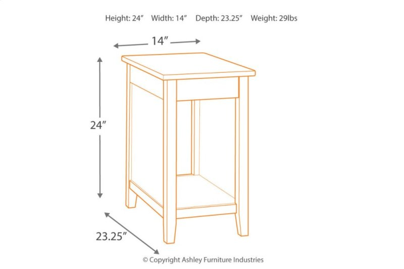 e3079fb1fd56db T217811 in by Ashley Furniture in Orange, CA - Chair Side End Table