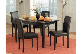 5 Piece Dining Table with Four Stools