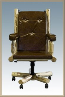 Montana Log Office Chair