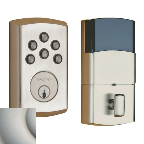 Satin Nickel with Lifetime Finish Soho Electronic Deadbolt