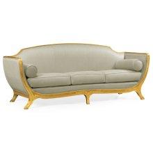 Gilded Empire Style Sofa (MAZO Fabric)