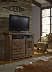 Media Chest - Tobacco Finish Product Image