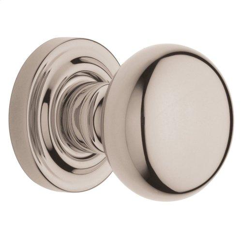 Polished Nickel with Lifetime Finish 5030 Estate Knob