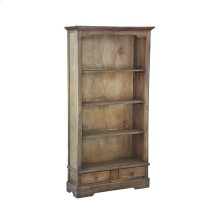 CC-CAB1918S-SV  Cottage Cabinet with 4 Shelves and 2 Drawers