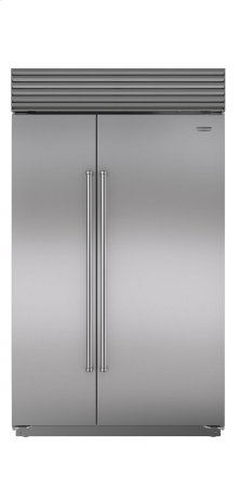 "48"" Built-In Side-by-Side Refrigerator/Freezer with Internal Dispenser"