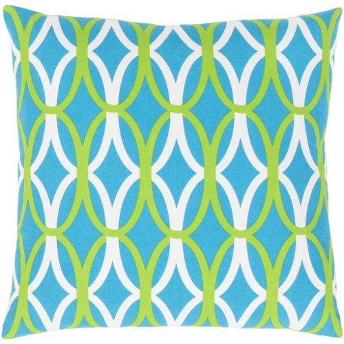 "Miranda MRA-012 22"" x 22"" Pillow Shell with Down Insert"