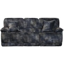 Power Reclining Console Loveseat w/Storage & Cupholders