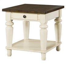 Heartland Rectangular End Table W/ Drawer