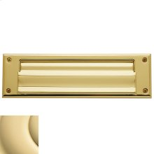 Non-Lacquered Brass Letter Box Plates