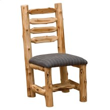Side Chair - Natural Cedar - Standard Leather