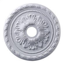 Corinthian Medallion 22 Inch in White Finish
