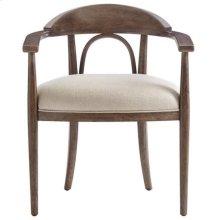 Panavista Studio Arm Chair in Quicksilver