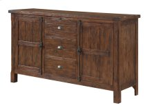 Emerald Home Chambers Bay Buffet Pine-hand Scraped Antique D312-60