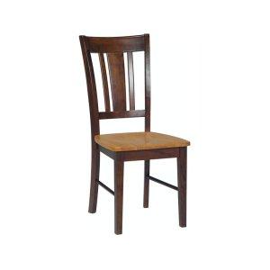JOHN THOMAS FURNITURESan Remo Chair in Cinnamon & Espresso