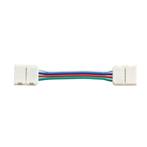 "2"" RGB LED Tape Interconnect White"