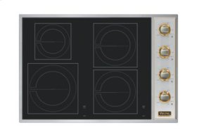 """30"""" All-Induction Cooktop, No Brass Accent"""