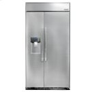"""Discovery 42"""" Built-In Refrigerator, in Stainless Steel with Pro Style Handle Product Image"""
