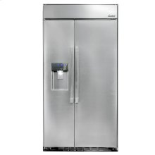 """Discovery 42"""" Built-In Refrigerator, in Stainless Steel with Pro Style Handle-CLOSEOUT"""