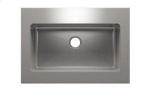 "Classic+ 000253 - worktop stainless steel Kitchen sink , 30"" × 16"" × 10"""