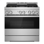 "JENN-AIRNOIR 36"" Gas Professional-Style Range with Grill"
