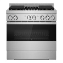 "36"" NOIR Gas Professional-Style Range with Infrared Grill"