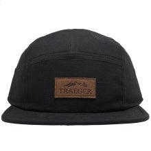 Black Hat 5 Panel Adjustable
