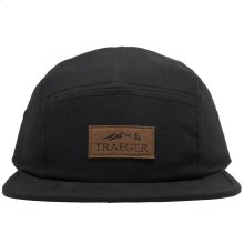 Black Hat 5 Panel Adjustable
