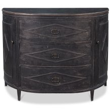 Weathered Black Sideboard
