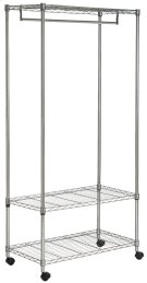 Gordon Chrome Wire 3 Tier Garment Rack - Chrome Product Image