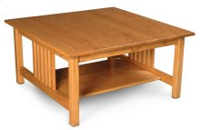 Mission Square Coffee Table