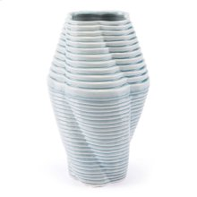 Twisted Md Vase Blue