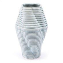 Twisted Md Vase Blue