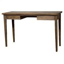 Panca Console Table / Desk, Coffee Glaze
