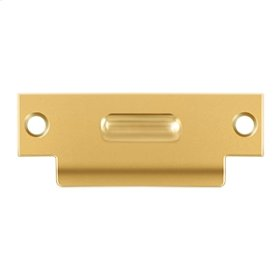 """T-Strike For RCA430, 4-7/8"""" x 1-7/8"""" - PVD Polished Brass"""
