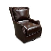 Leather Louis Swivel Chair 29169AL Product Image