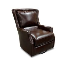Leather Louis Swivel Chair 29169AL
